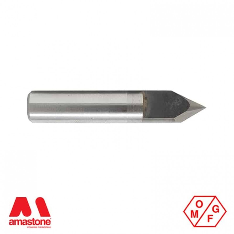 60° Widia V-Groove Router Bit