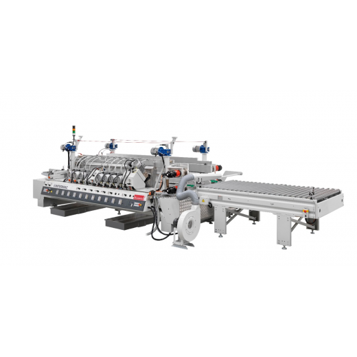DOUBLE-EDGER FOR SINTERED MATERIALS