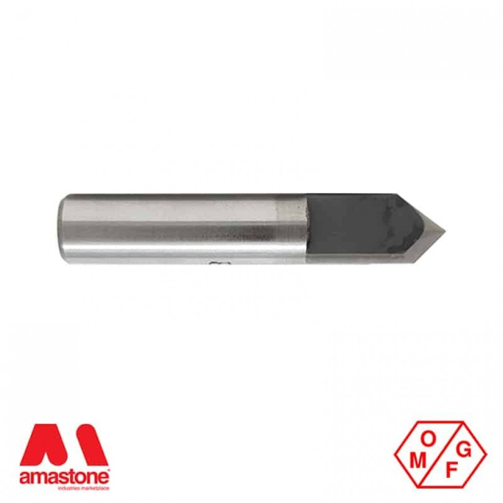 90° Widia V-Groove Router Bit