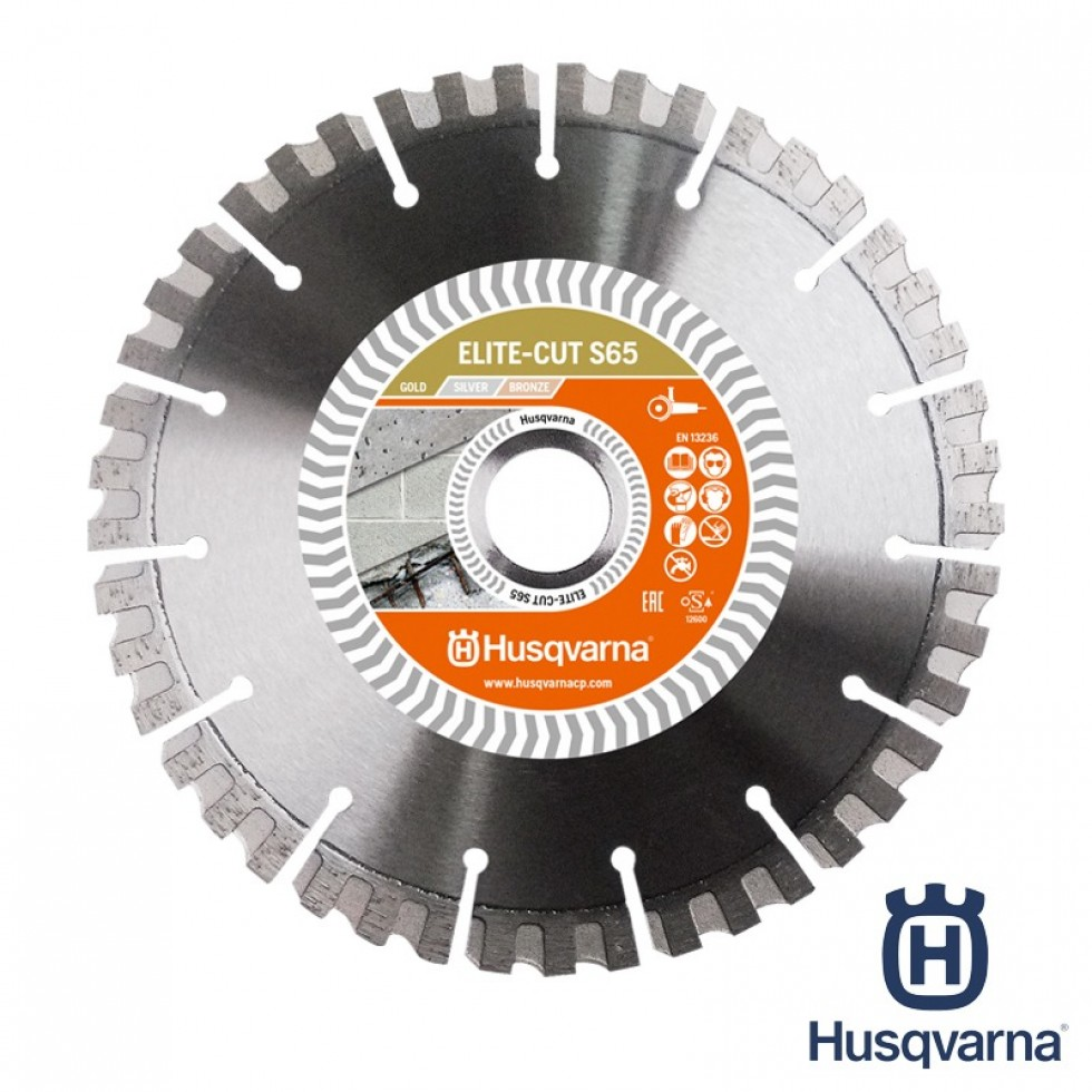 Cement blade for power cutters, masonry saws, floor saws and angle grinder – Husqvarna