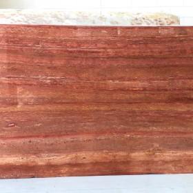 TRAVERTINO ROSSO  3 cm