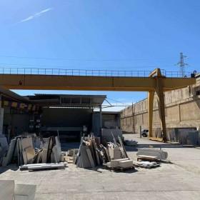 GANTRY CRANE D'AZZEO 30 TONS – 27+6+6 M