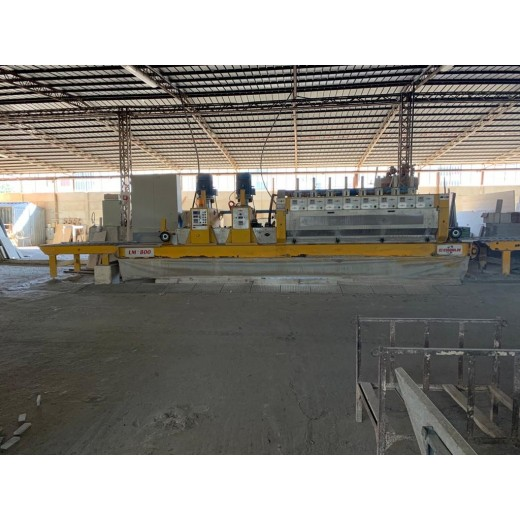 POLISHING MACHINE FOR MARBLE TILES CEMAR LM8 2C+8A
