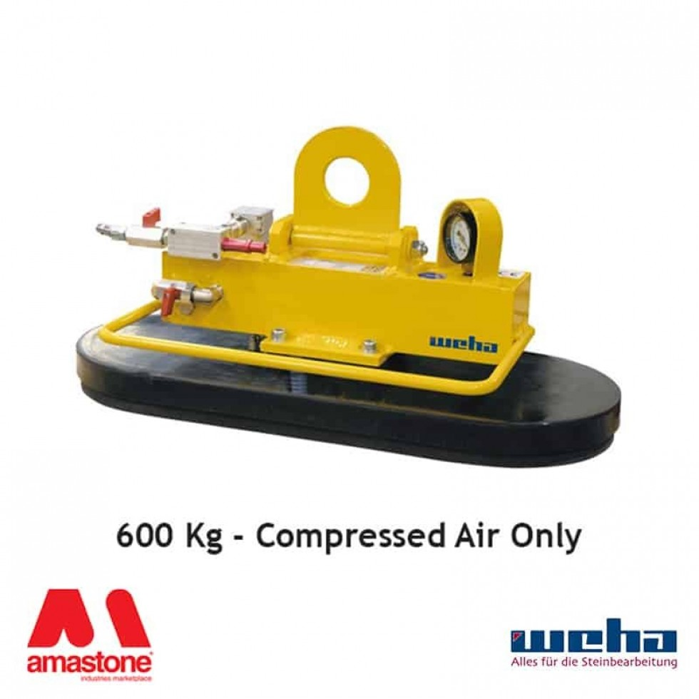 Vacuum lifter with Compressed Air – 600 Kg