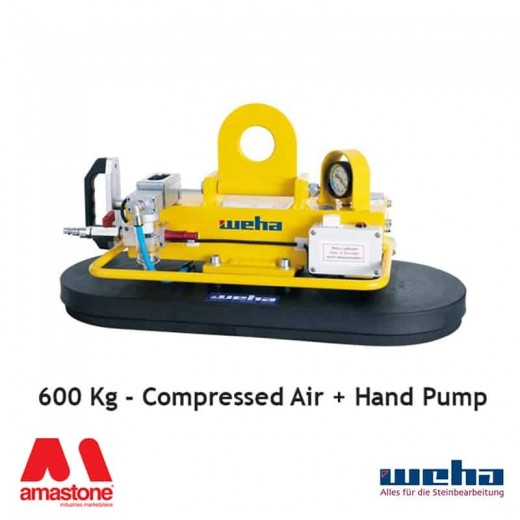VACUUM LIFTER UNI PAD COMPRESSED AIR / HAND PUMP – 300 / 600 / 800 KG – WEHA