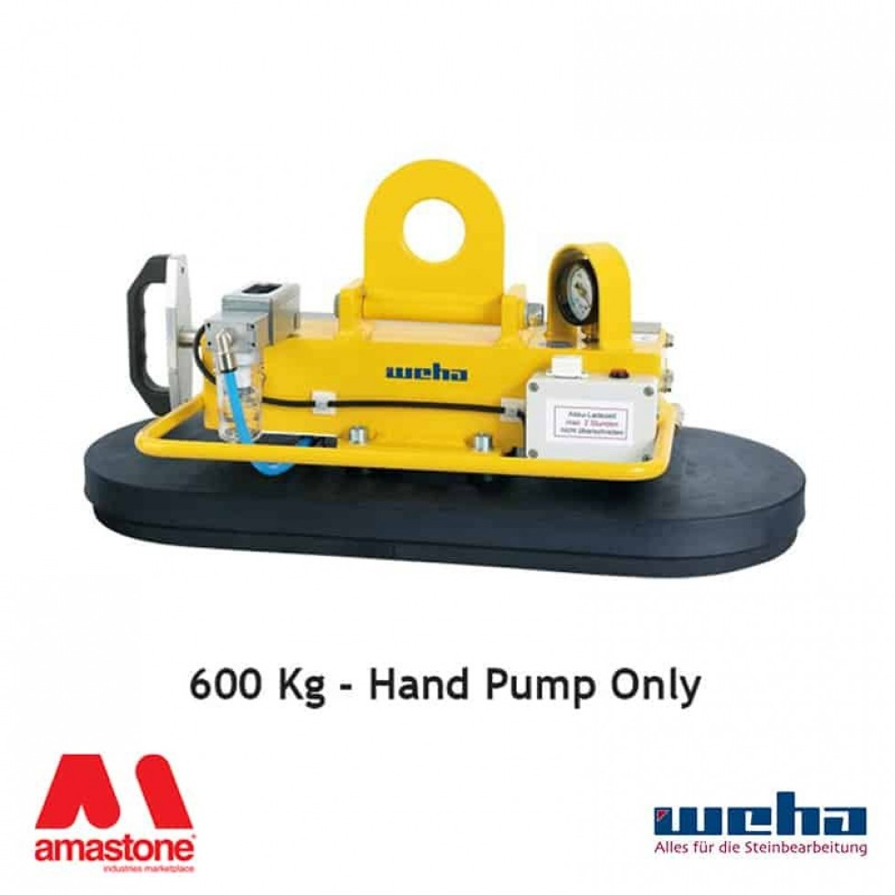 Vacuum lifter with Hand Pump – 600 Kg