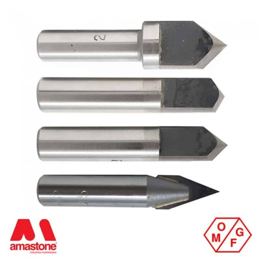 WIDIA V-GROOVE ROUTER BIT - OMGF